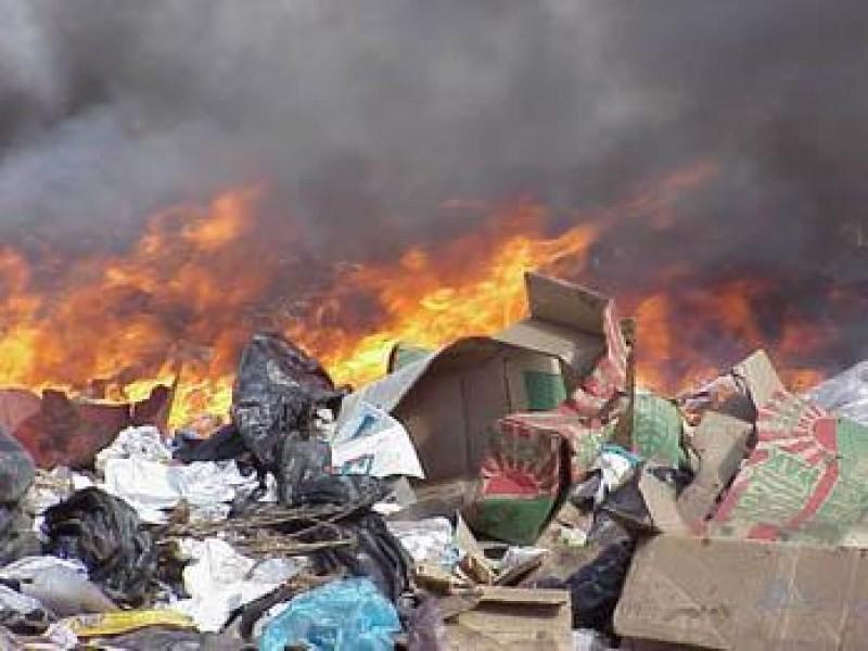 Quemas clandestinas de basura al 911