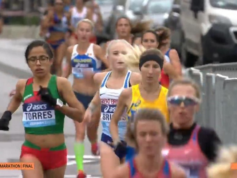 Queretana consigue resultado histórico en el Mundial de Medio Maratón
