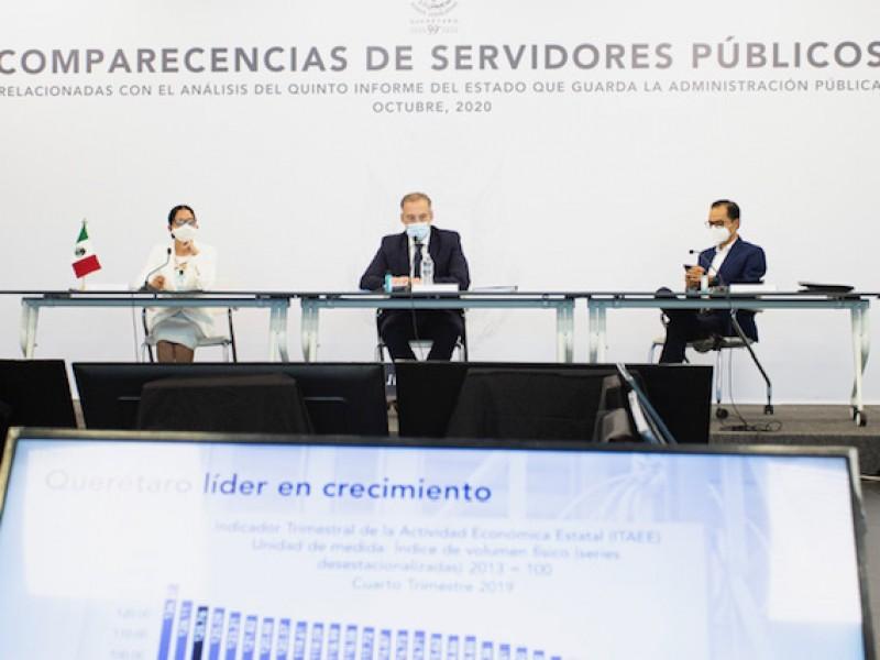 Querétaro con rumbo a la recuperación económica: Del Prete Tercero