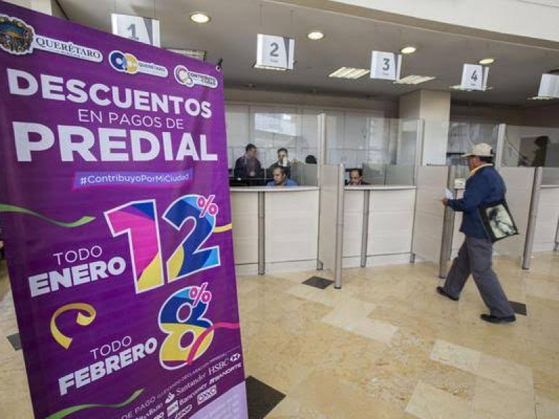 Querétaro cumplido en pago de predial