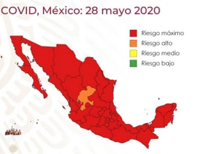 Querétaro entra en rojo en semáforo nacional Covid