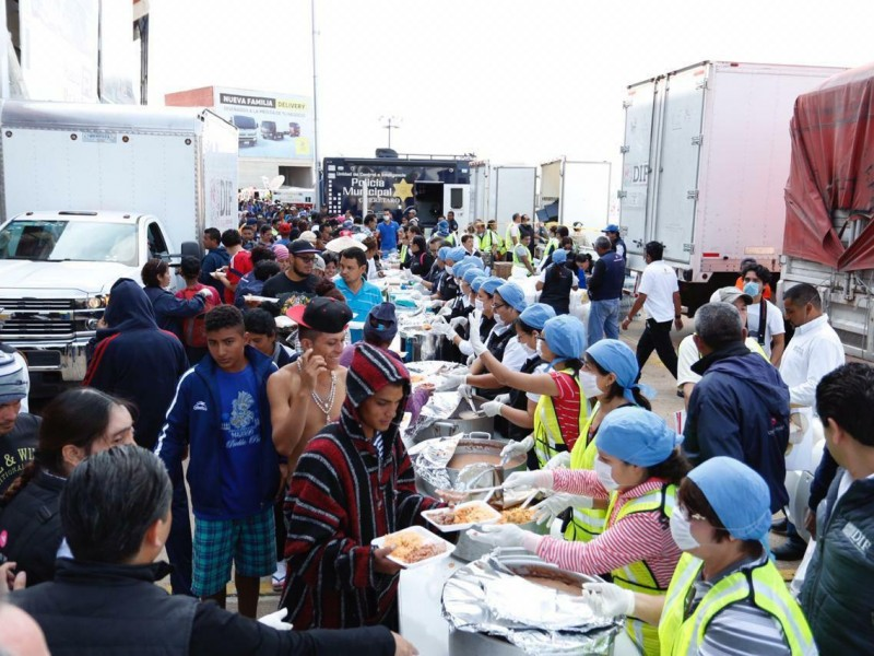 Querétaro listo para recibir caravanas migrantes