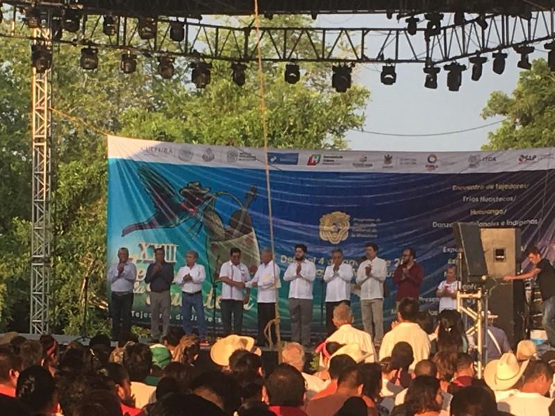 Querétaro presente en el Festival de la Huasteca