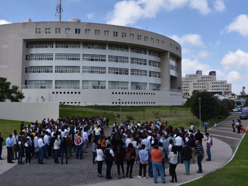 Querétaro se unió al simulacro nacional para actuación sismos