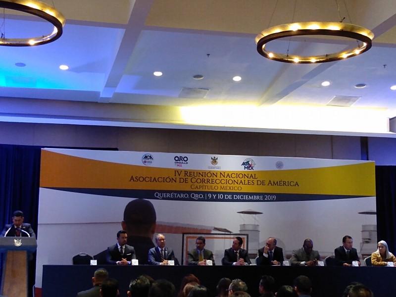 Querétaro sede de Reunión Nacional de Correccionales