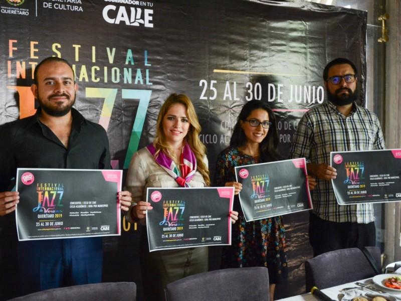 Querétaro será nuevamente capital del Jazz