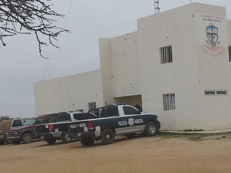 Rafaguean comandancia policial de Pánfilo Natera