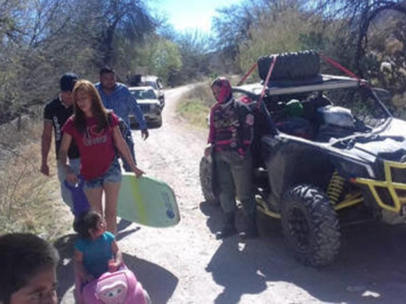 Racers se amparan para ingresar al Cañón de Fernández