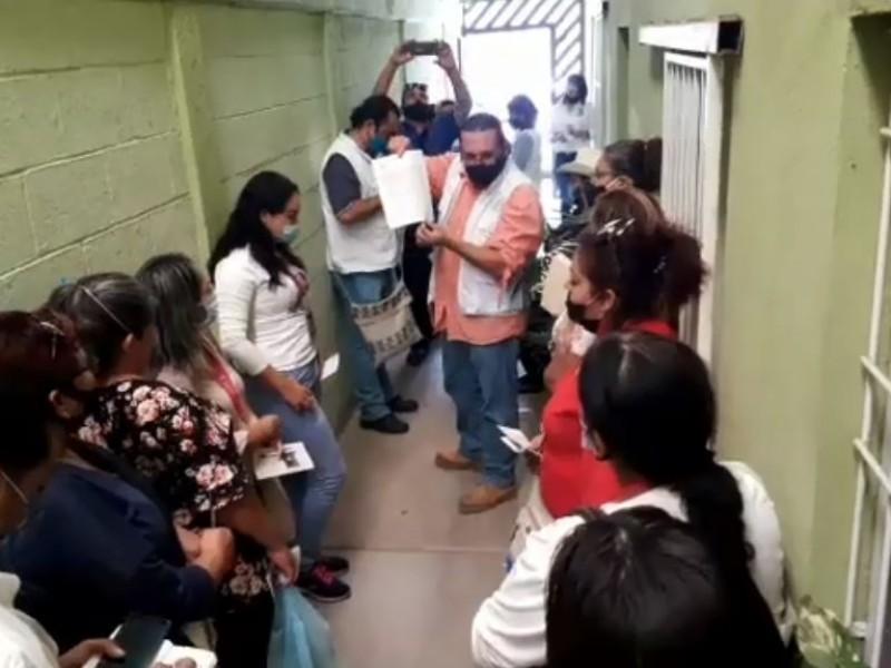 Rastreadoras y Buscadoras se reúnen con CEDH, buscan apoyo