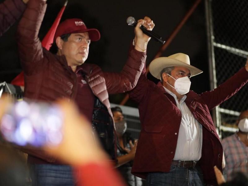 Ratifica INE retiro de registro de candidatura a Raúl Morón