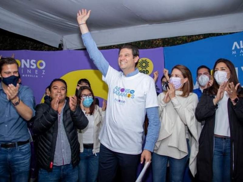 Ratifica TEEM triunfo de Alfonso Martínez en Morelia