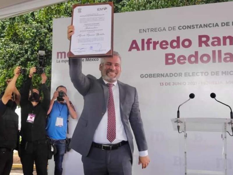 Ratifica TEEM triunfo de Alfredo Ramírez como gobernador de Michoacán