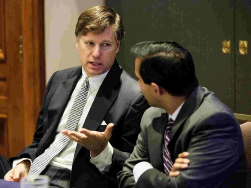 Ratifican a nuevo embajador de EEUU en México