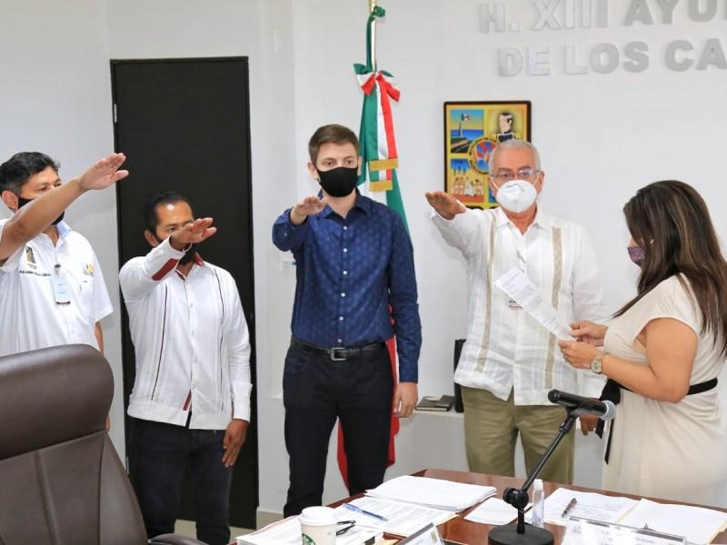Ratifican a titulares de cuatro direcciones del gobierno municipal