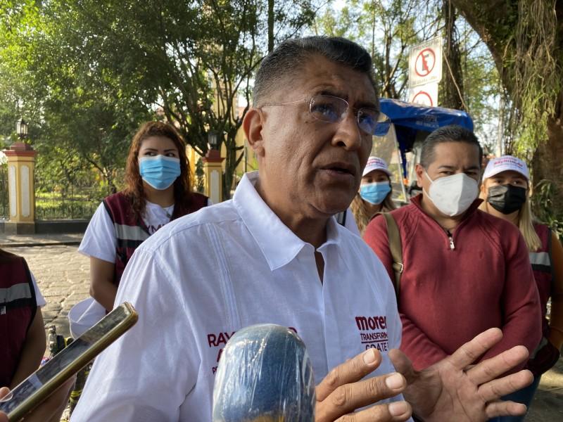 Raymundo Andrade promete política social de inclusión para Coatepec
