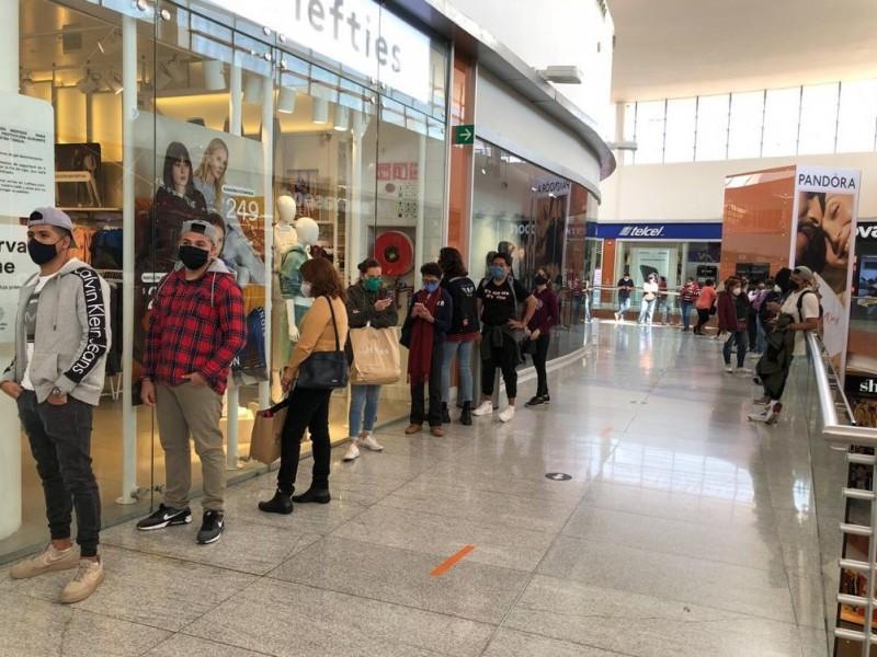Reabren 338 centros comerciales en CDMX