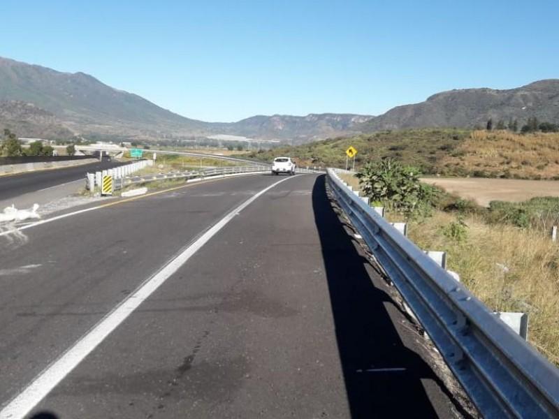 Reabren autopista Jala Compostela
