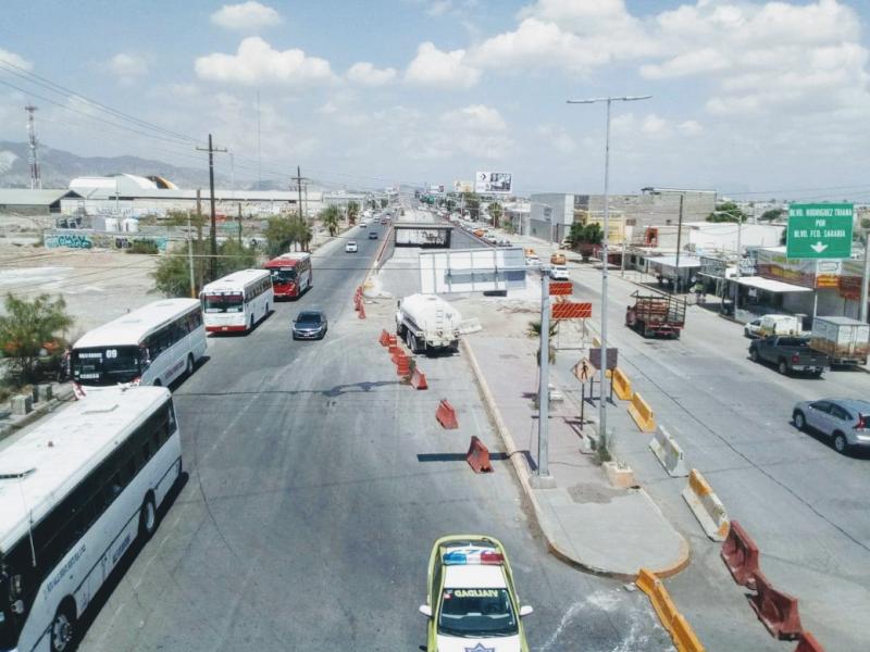 Reabren carriles en la carretera Torreón - Matamoros