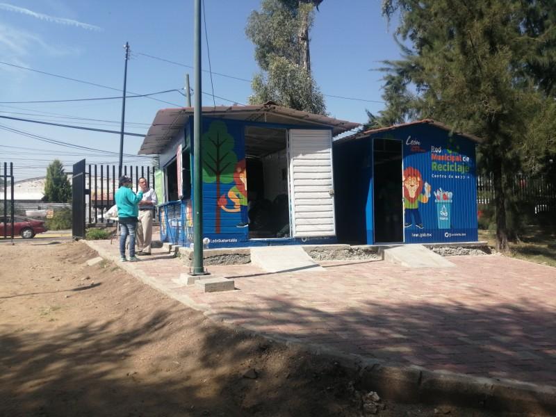Reabren Centro de Acopio de Los Cárcamos