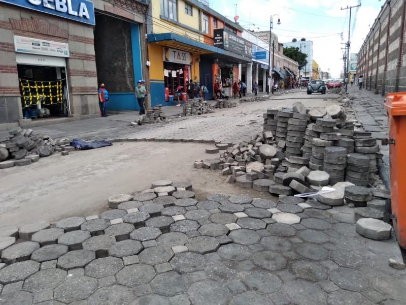 Reabren comerciantes circulación en calles 8,10,12 poniente-oriente