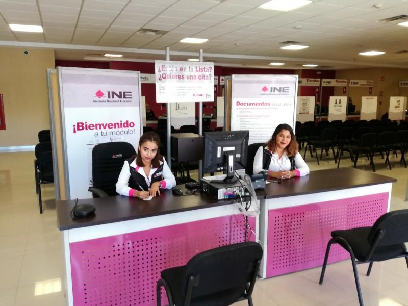 Reabren módulos de INE en Sonora