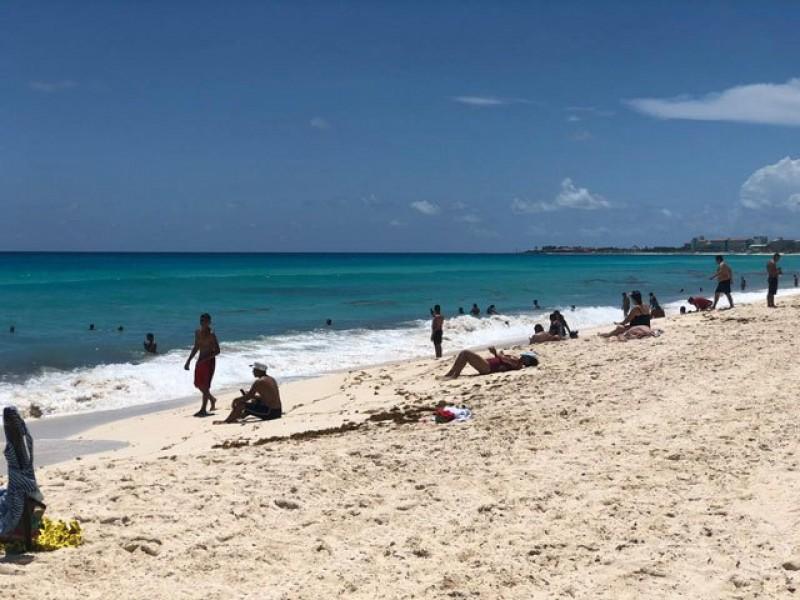 Reabren todas las playas públicas de Cancún