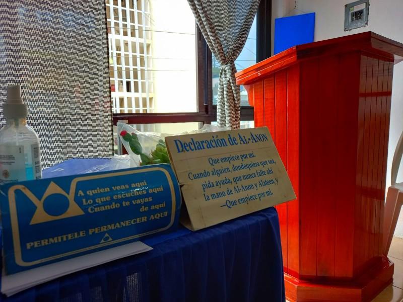 Reactivan grupos Al-Anon en municipios del Norte de Veracruz