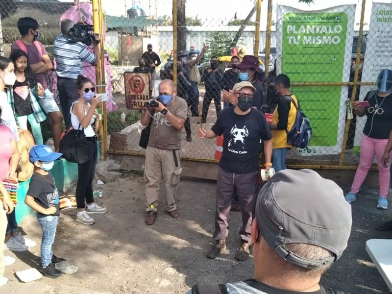 Reactivan lucha por recuperar terreno Iconia para parque en Huentitán