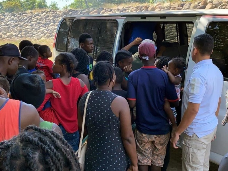 Realiza GN nueva detención de migrantes