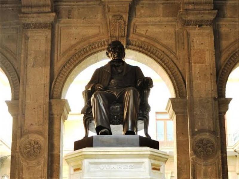 Realiza gobierno federal ceremonia por aniversario luctuoso de Benito Juárez