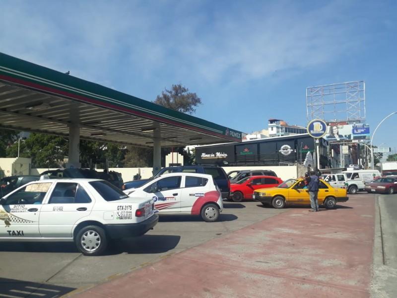 Realiza PROFECO operativo por desabasto de combustible