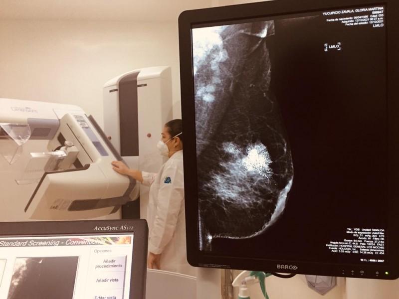 Detectan hasta 2 casos de cáncer de mama por semana