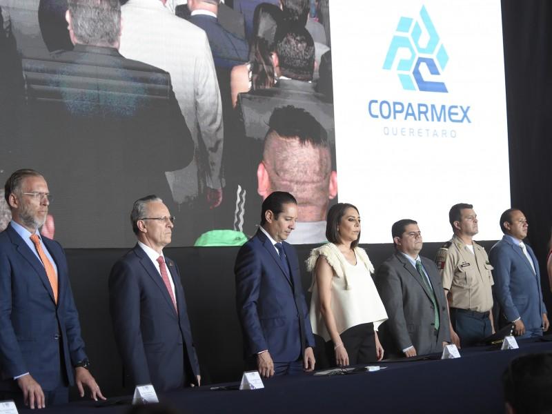 Realizan 54 asamblea anual ordinaria COPARMEX