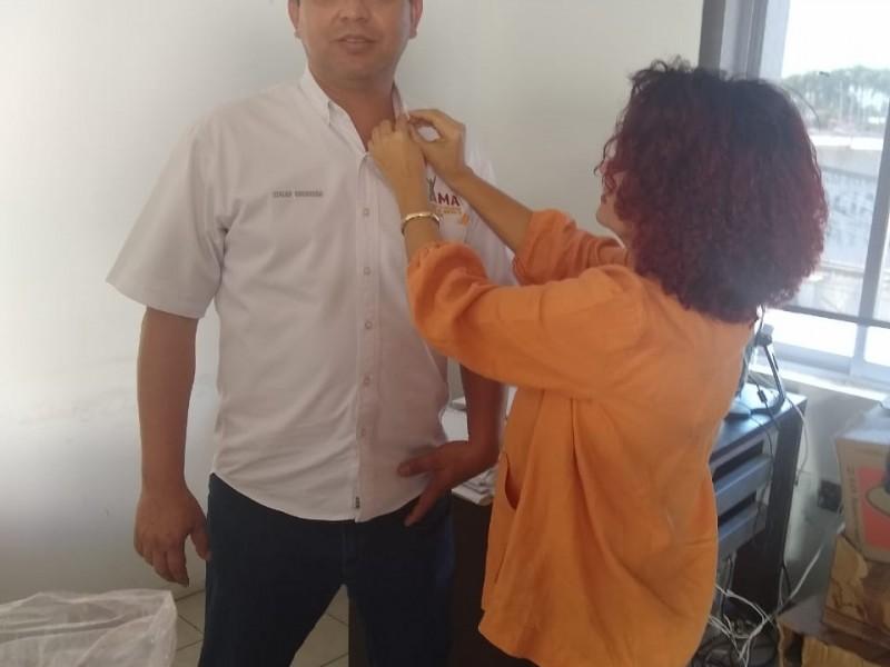 Activan día naranja contra la violencia de la mujer