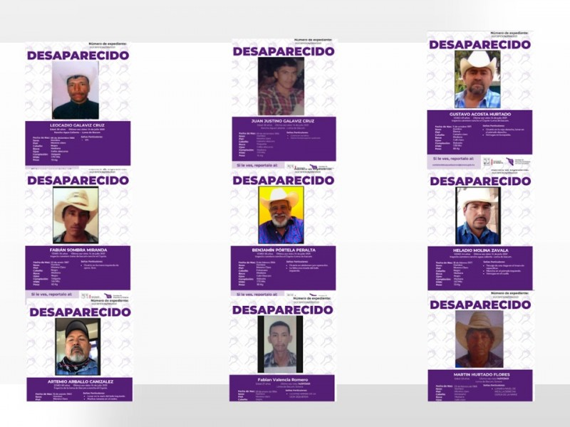 Realizan búsqueda de Yaquis desaparecidos