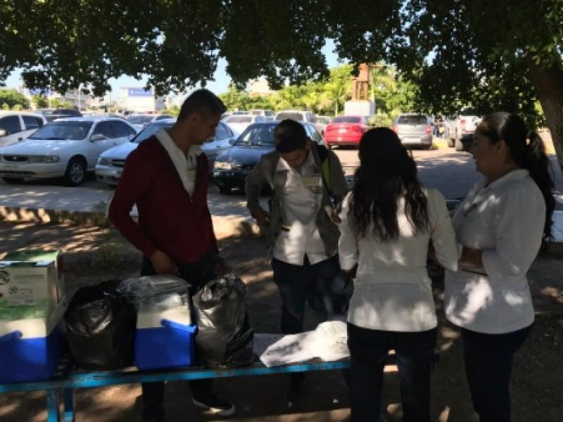 Realizan campaña de vacunación en CU UAS Los Mochis
