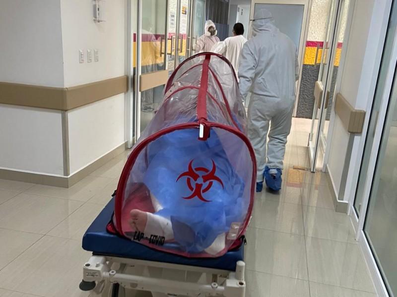 Realizan cesárea a paciente Covid 19 en Uruapan