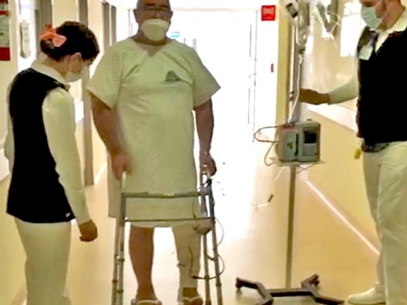Realizan cirugía de prótesis de rodilla en hospital Ciudad Constitución