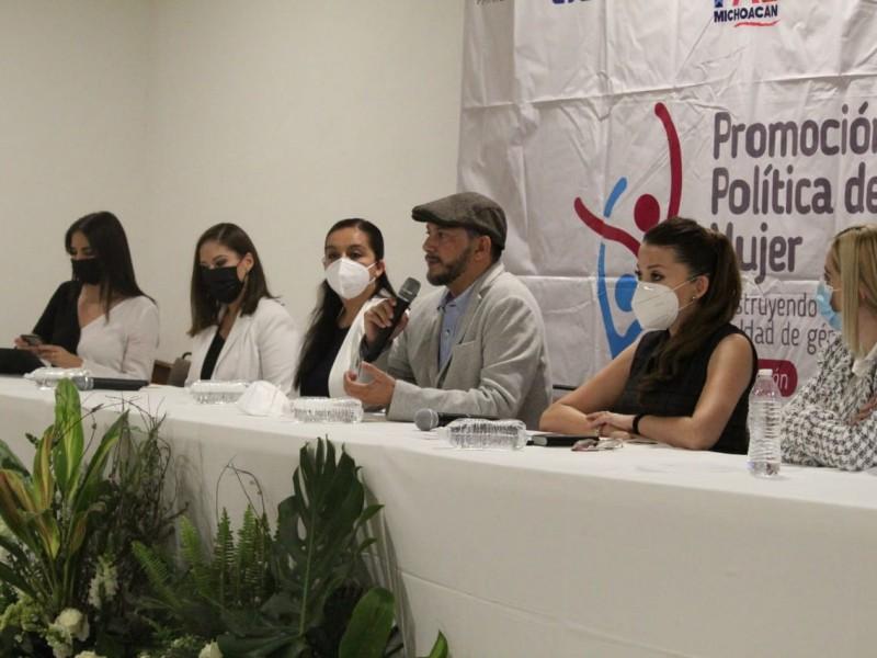 Realizan conversatorio sobre violencia política de género en Zamora