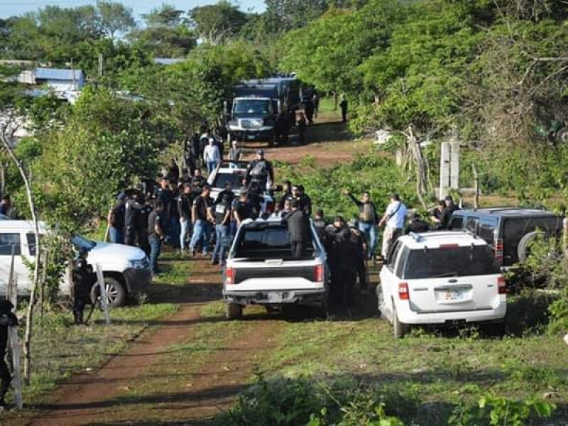 Realizan desalojo en Mezcalapa