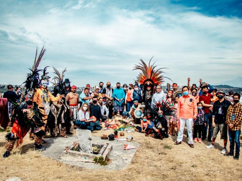 Realizan evento artístico para el rescate de pirámides Tepalcayotl