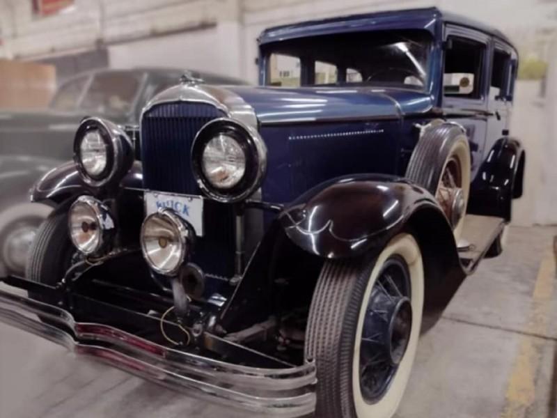 Realizan exposición de Autos Antiguos y Clásicos en Álamos