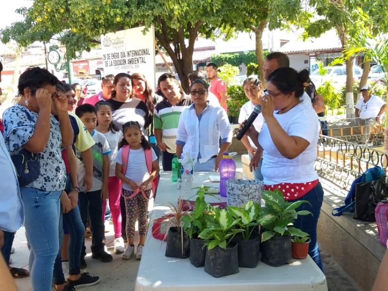 Realizan Foro Ecológico 2019 en Tehuantepec