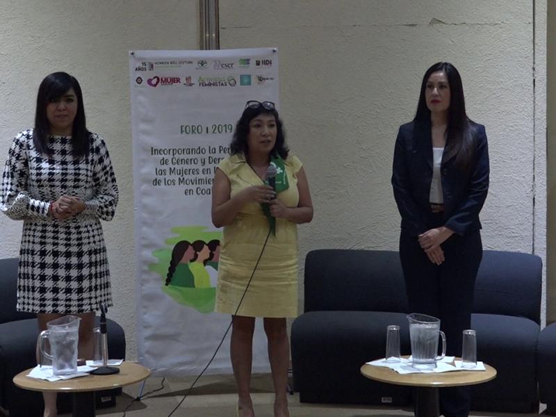 Realizan foro sobre equidad de género en Torreón