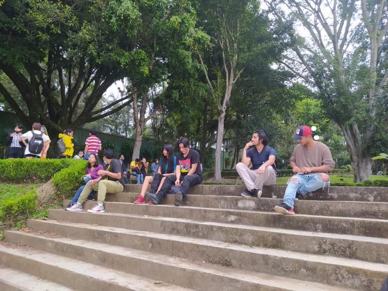 Realizan fumatón de canabis en Xalapa