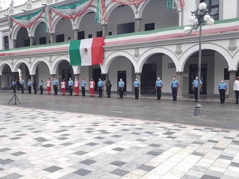 Realizan homenaje a víctimas de sismos del 19 de septiembre