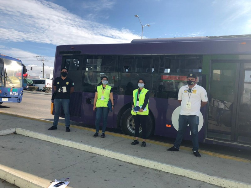 Realizan inspecciones en el transporte público