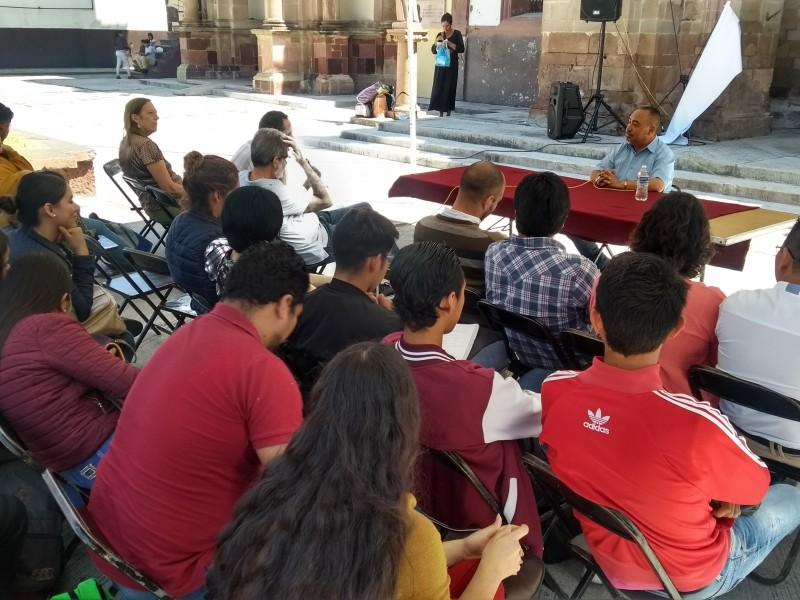 Realizan Jornada Cultural por la Paz en Zamora