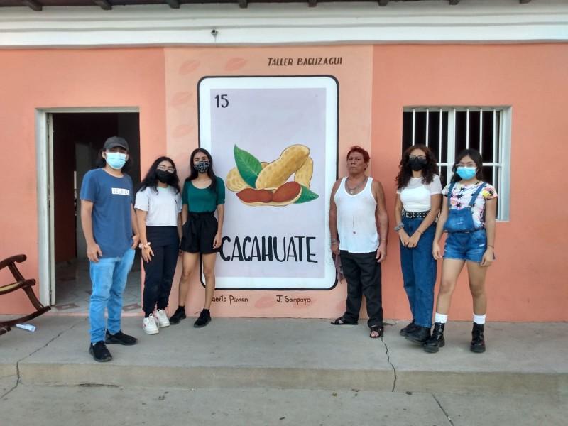 Realizan lotería con apodos de personajes de Unión Hidalgo, Oaxaca