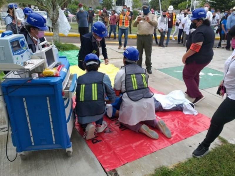 Realizan macrosimulacro 3 mil inmuebles en Jalisco
